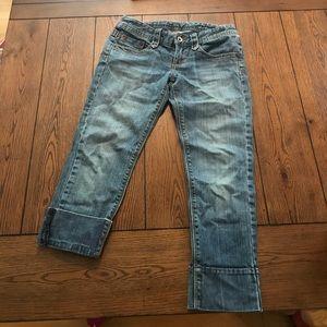 Express Denim Capri jeans